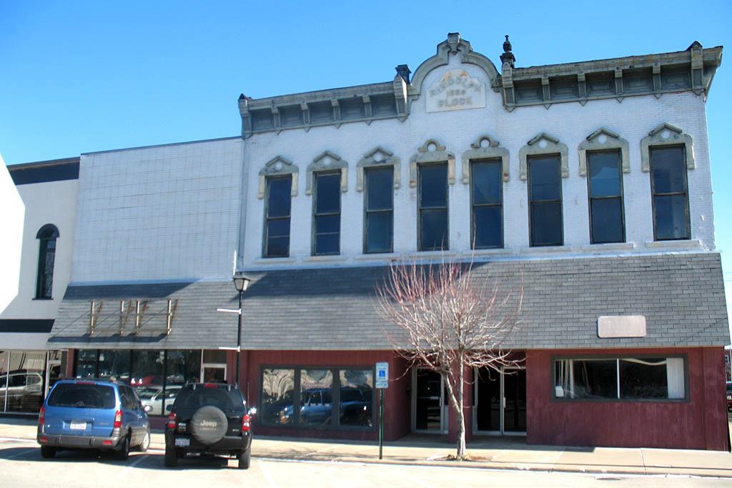 The Randolph Building prior to renovation.