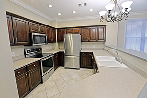 The Imperial floor plan offers a spacious kitchen with plenty of cabinet storage.