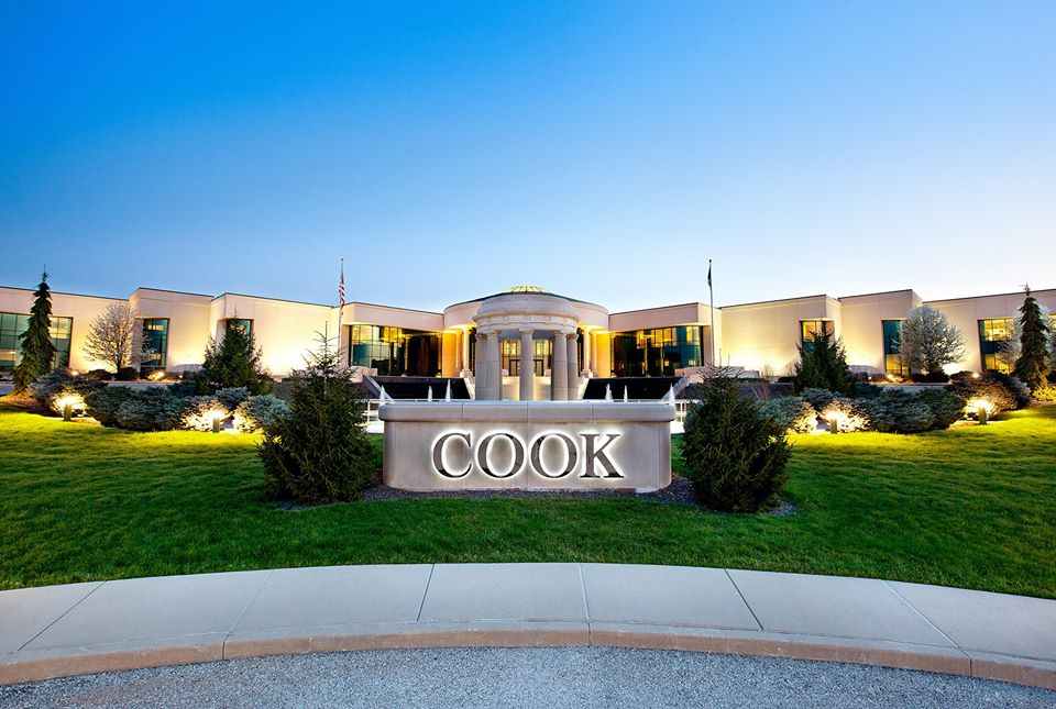 Cook's massive Corporate Office is located Downtown Bloomington.