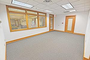 Showers, Suite 116, provides a spacious reception area.