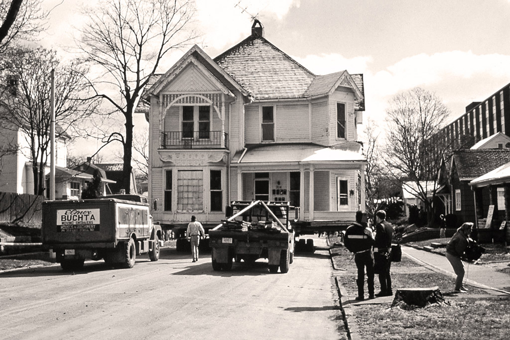Before photo of the The Ziegler House.