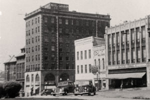 Photograph of Hotel Graham, circa 1930s.