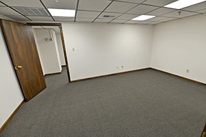 Graham Plaza, Suite 013, offers a spacious private office.